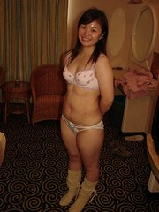 spread amateur asian pussy tits